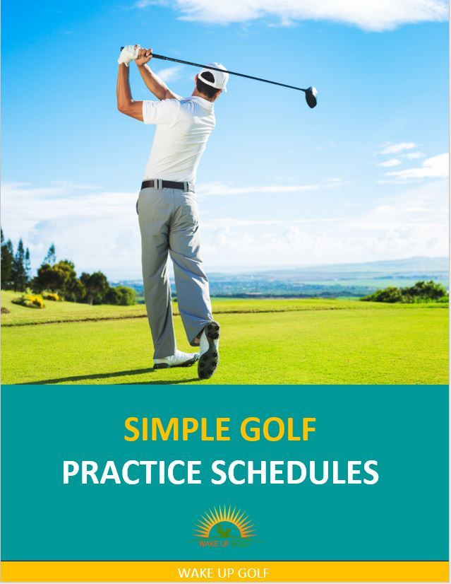 Golf Practice Schedules